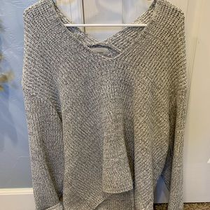Urban Outfitters Grey knit sweater SZ:Small